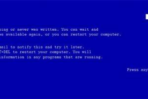 Синий экран смерти для WordPress замена 404