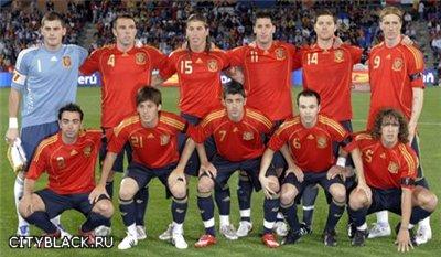 Из-за чего сборную испании по футболу называют Красной фурией