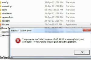 d3dx9_42.dll is missing – что делать? Есть решение