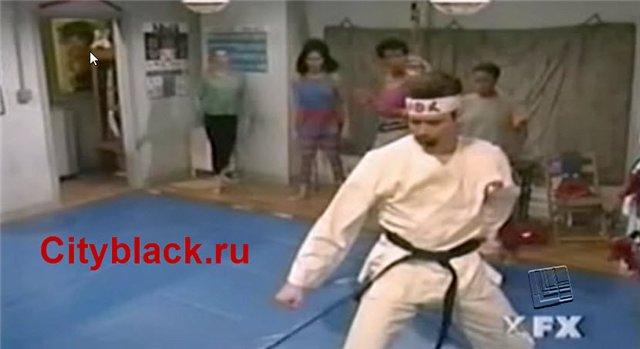 Джим Кэрри — Инструктор по Карате для женщин (Без цензуры)