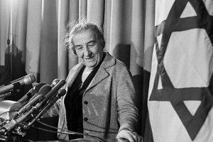 Голда Меир – женщина, благодаря которой была провозглашена независимость Израиля