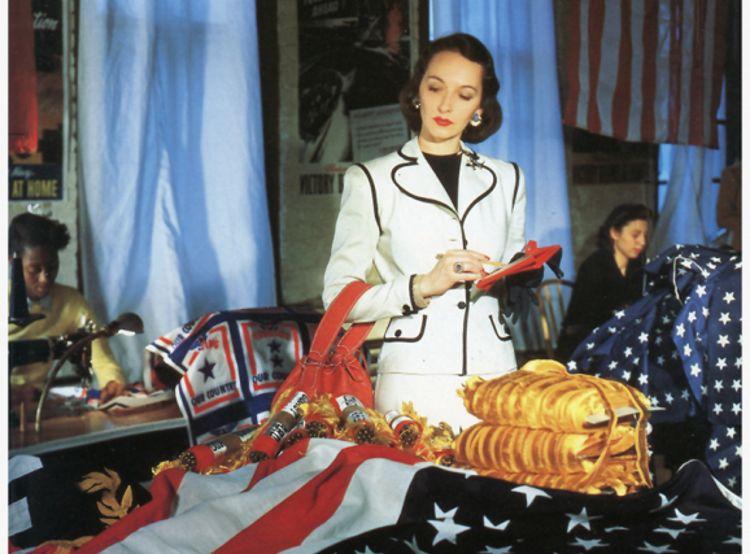 И в 40-х был гламур: подборка самых ярких фото тех времен